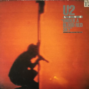 U2 - Live: Under A Blood Red Sky (Mini LP) (VG/G++)